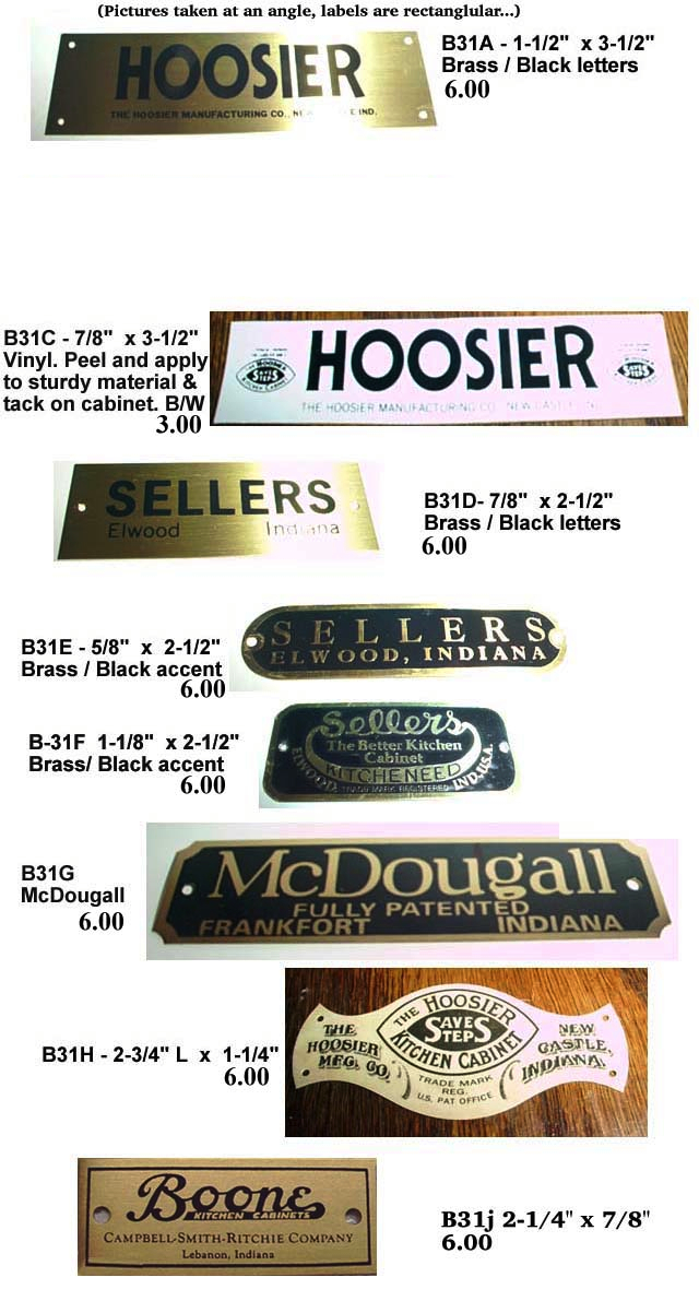 vintage hoosier cabinet replacement parts 3