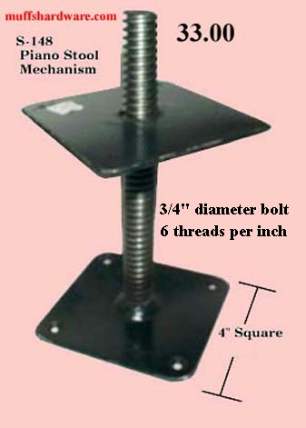 PIANO STOOL MECHANISM (ADJUSTABLE HEIGHT) & piano islam-shia.org